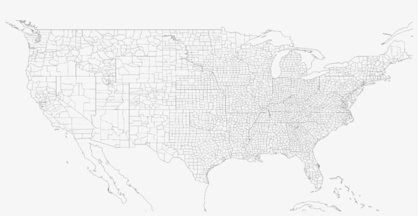 Us Blank County Map World Maps Best Of For Us Blank - Map - Free ...