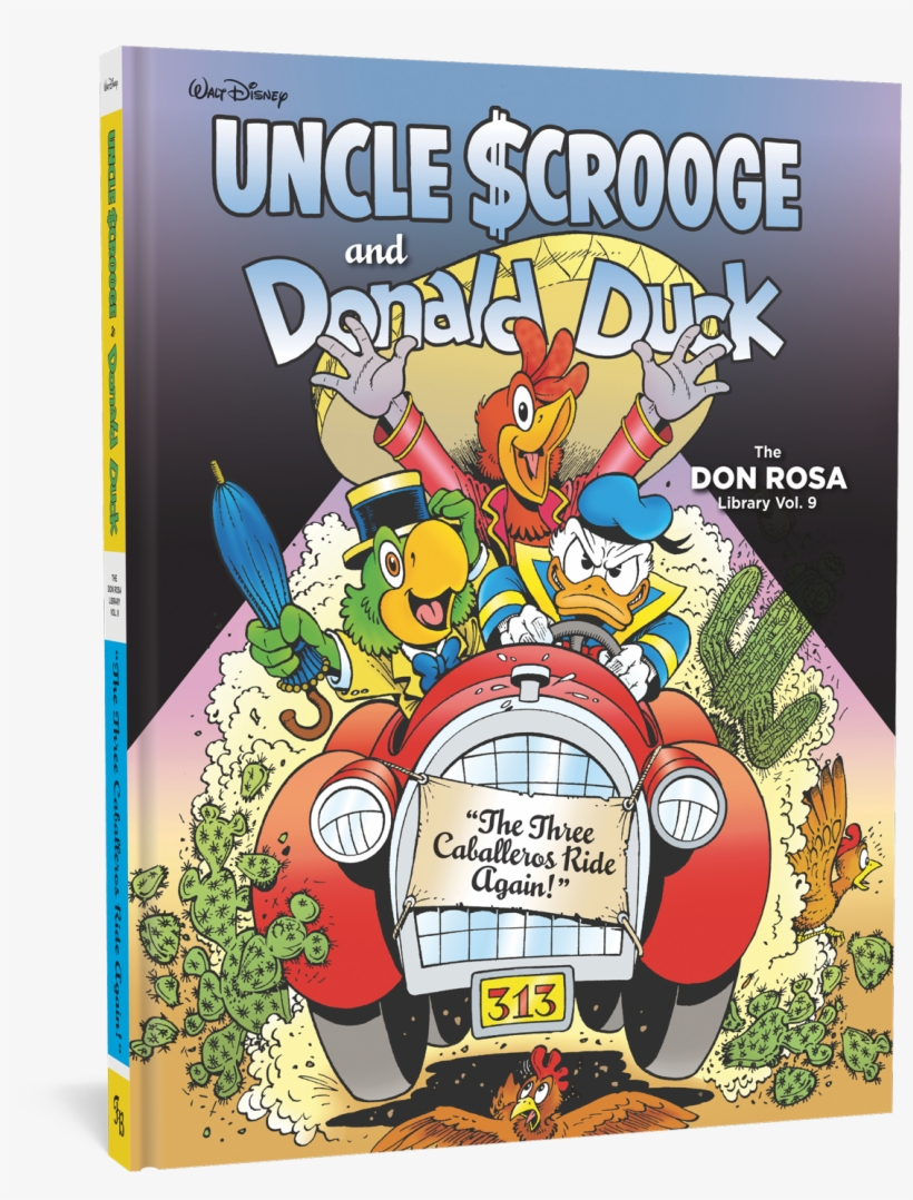 Rosa Three Caballeros - Don Rosa Library 9, transparent png #2250419
