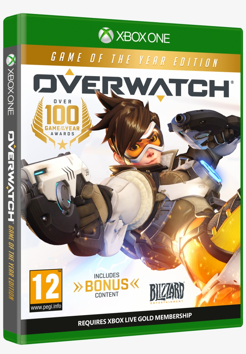 For Those Who Still Like Physical Copies Of Their Games, - Overwatch Game Of The Year Edition [xbox One Game], transparent png #2250908