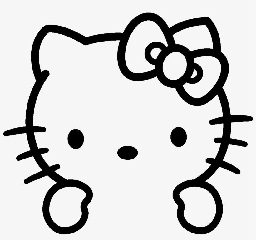 Free Hello Kitty Coloring Pages Tag: Hello Kitty Coloring. Hello ... | 769x820