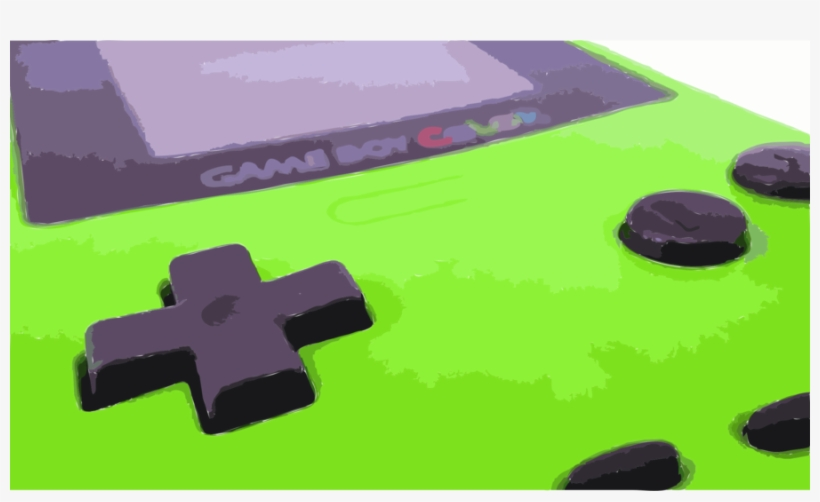 Gameboycolor Png Clipart Game Boy Color Pokémon Yellow - Game Boy Color Console Photograph, transparent png #2251173