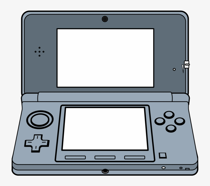 Video Game Clipart Gameboy - Video Game Console Clipart, transparent png #2251285