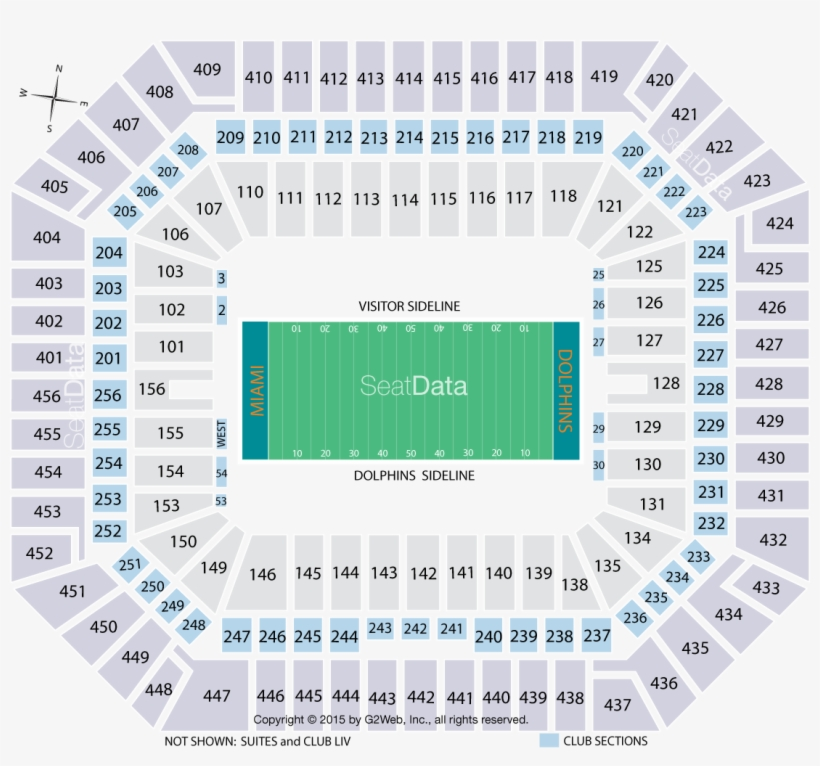 Click Section To See The View - Stadium, transparent png #2251885