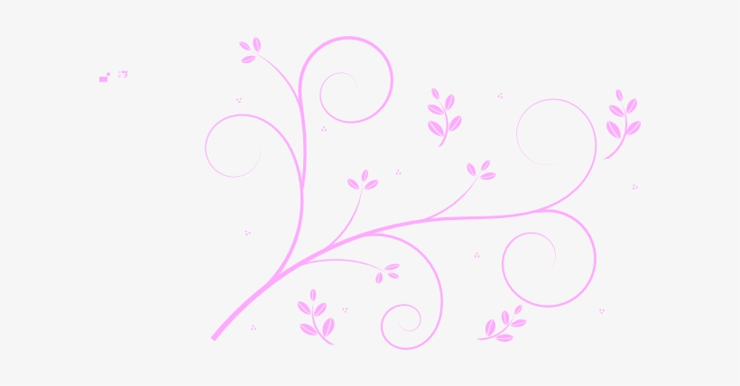 Small - Vine Line Drawing Flower, transparent png #2254181