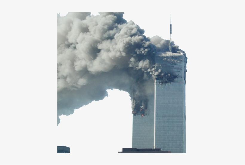 World Trade Center Burning - 9 11 Towers Smoking, transparent png #2255351