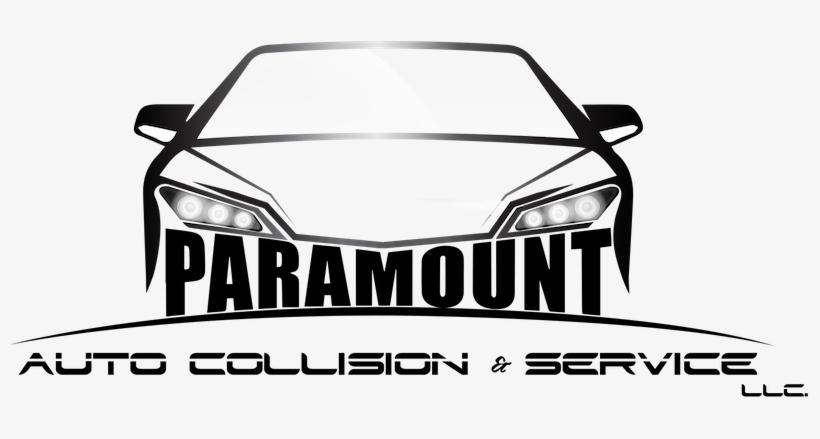 Paramount Auto Collision & Service Stencil Logo - Car Service, transparent png #2257689