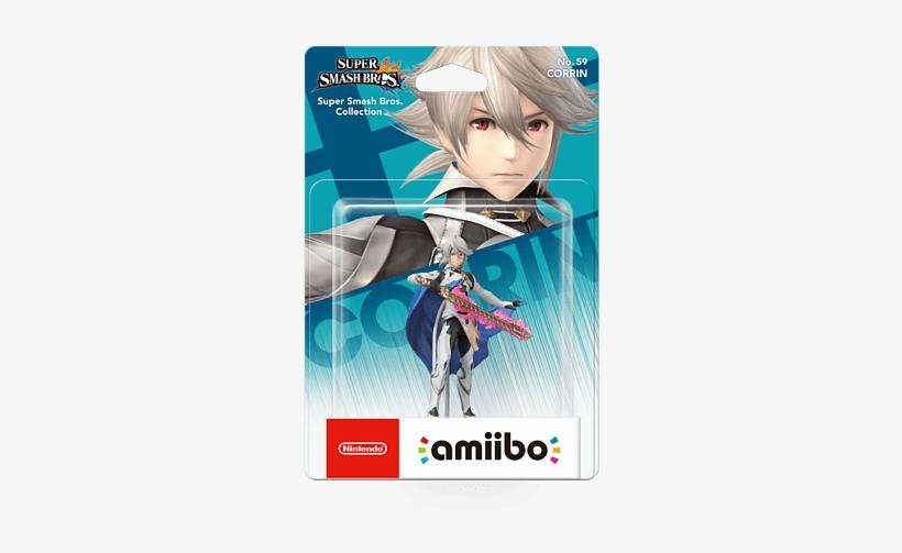 Super Smash Bros Collection - Super Smash Bros Corrin Amiibo, transparent png #2257836