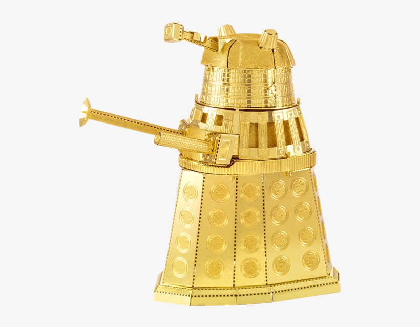 Metal Earth Doctor Who Dalek - Metal Earth - 3d Metal Model Kit - Doctor, transparent png #2258901