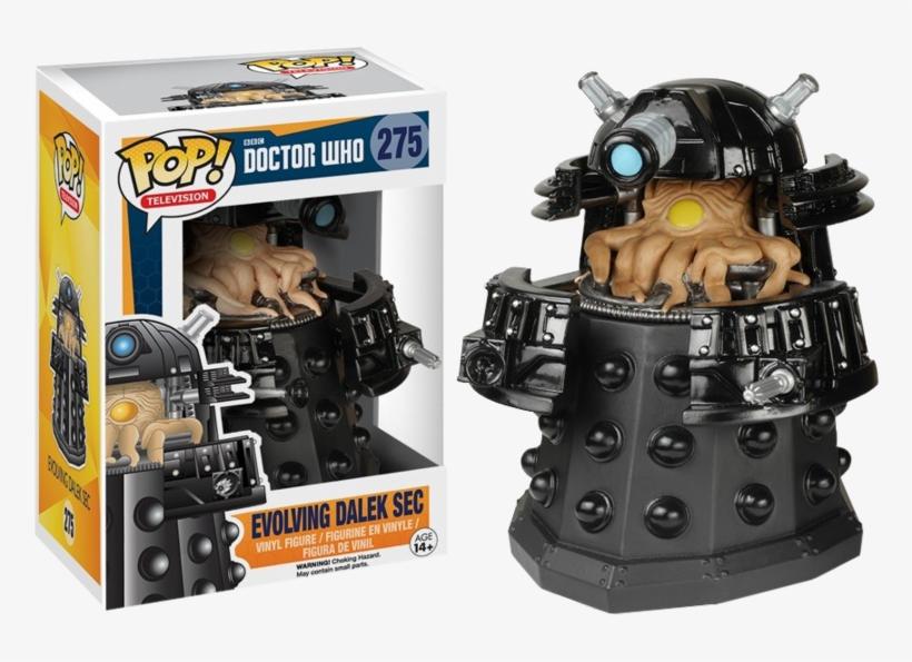 Evolving Dalek Sec Pop Vinyl Figure - Doctor Who - Dalek Sec (evolving) Pop! Vinyl Figure, transparent png #2259064