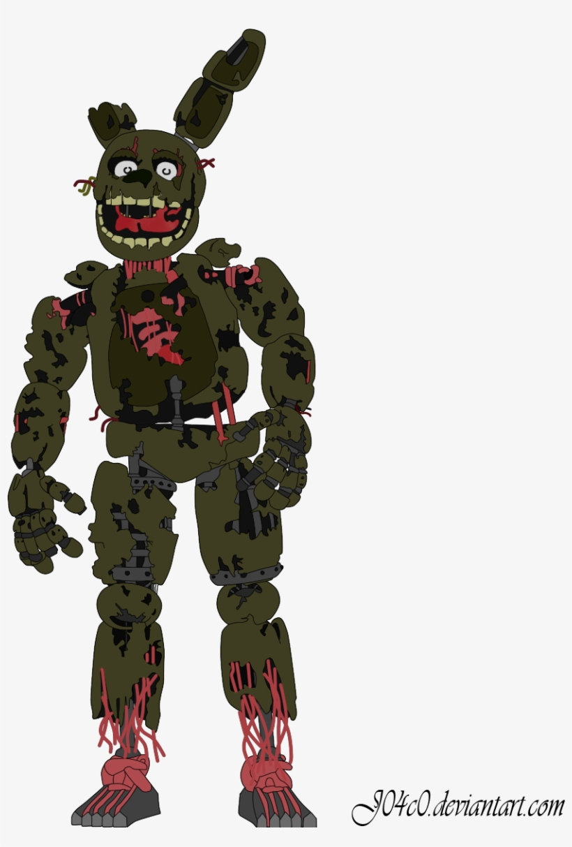Springtrap - Five Nights At Freddy's World Freddy, transparent png #2260114