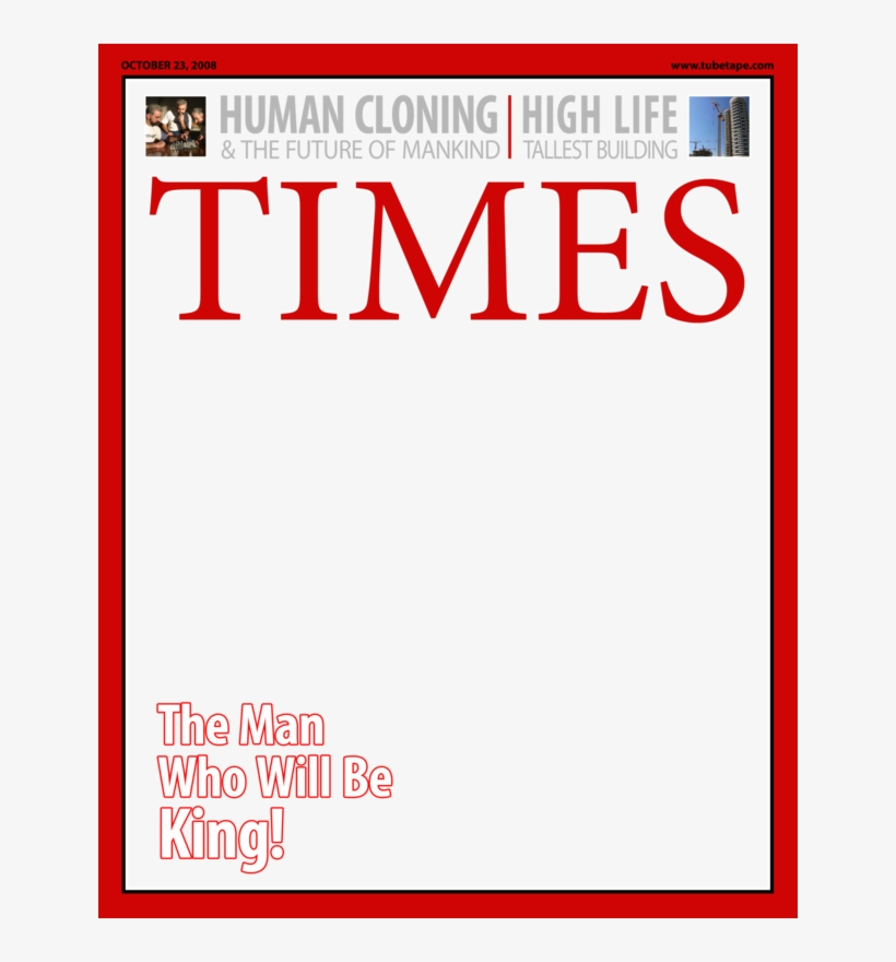 Time Magazine Png Times Magazine Template Png Free