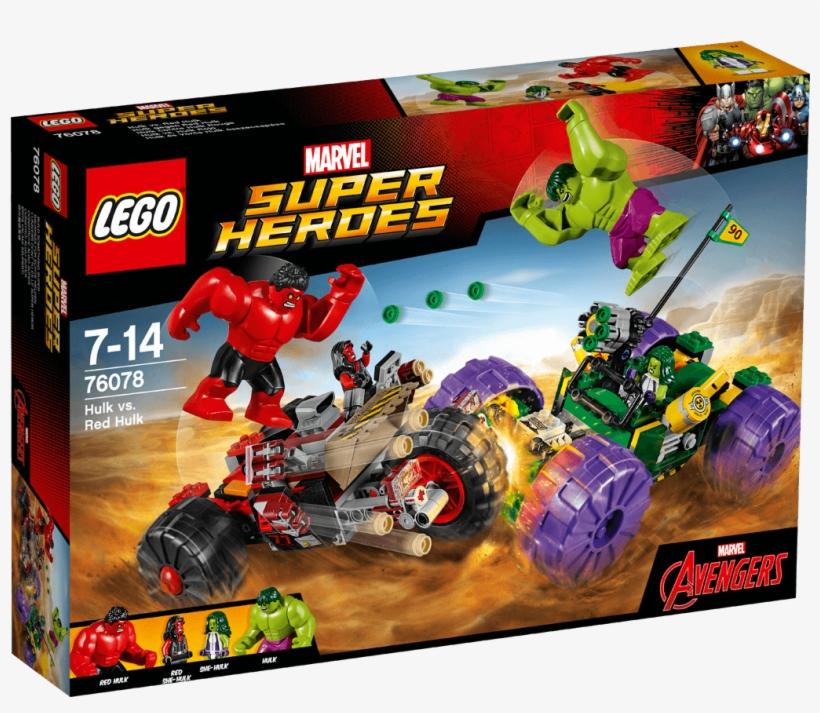 Lego Marvel Super Heroes Hulk Vs - Lego Super Heroes 76078, transparent png #2265372