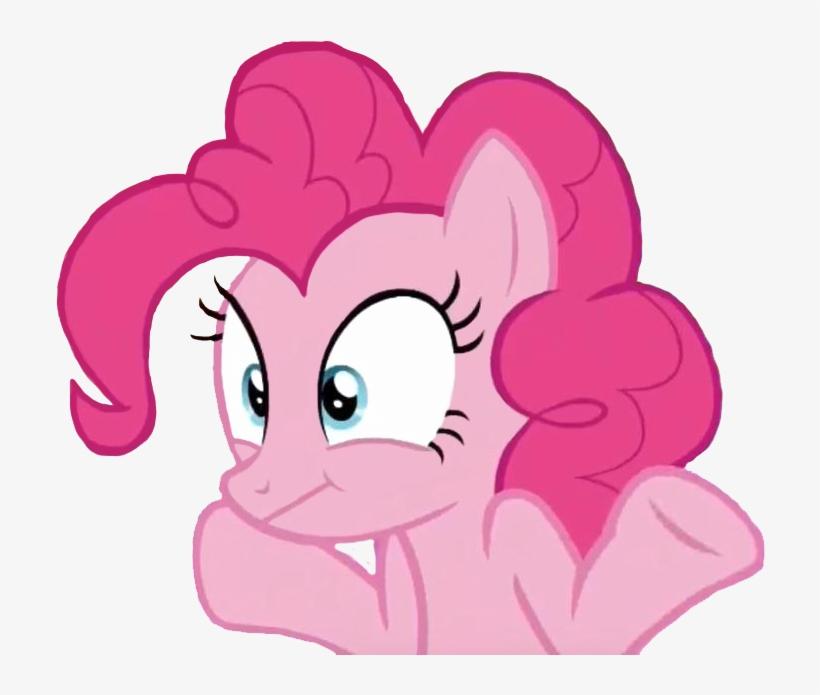 Transparent Shrugging Pinkie Pie [reupload With Improvements] - Pinkamena Diane Pie, transparent png #2266397