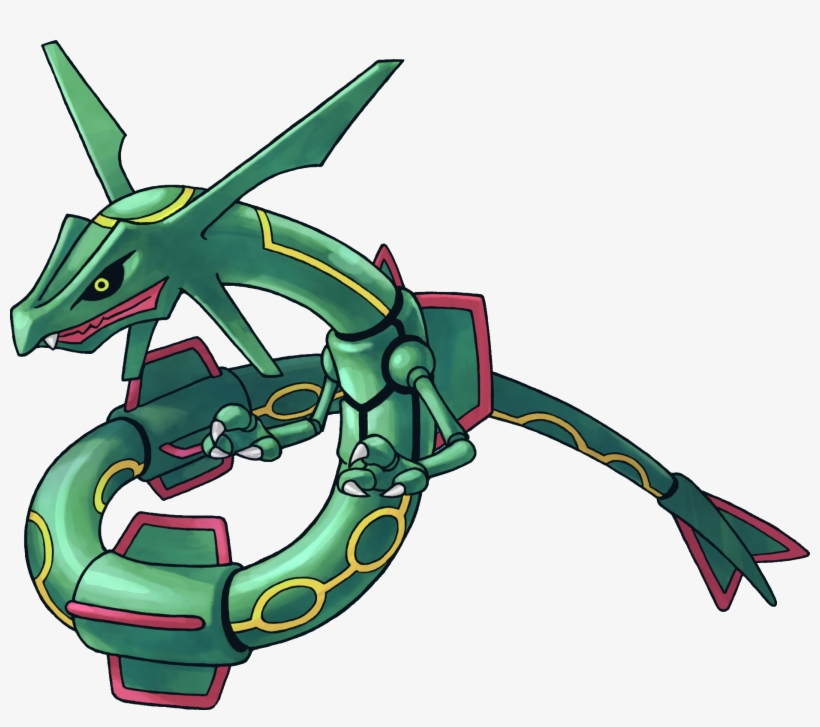 384rayquaza Pokemon Mystery Dungeon Red And Blue Rescue Pokemon