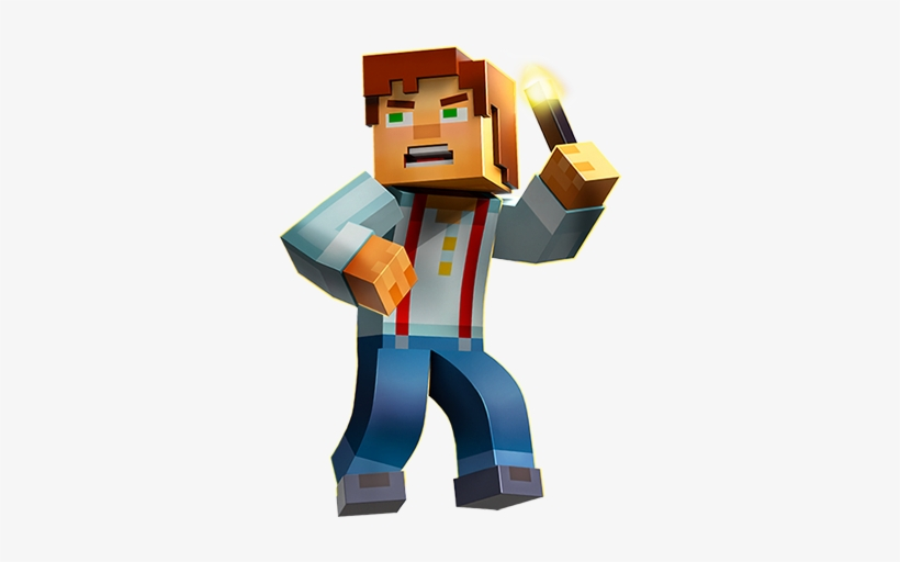 The Adventure Of A Lifetime In The World Of Minecraft - Minecraft Story Mode Season Pass Disc [pc Game], transparent png #2267134