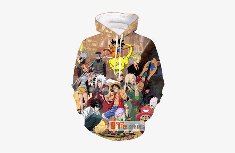 Kid Goku 3d Hoodies - Cool Anime Themed Clothes, transparent png #2267479