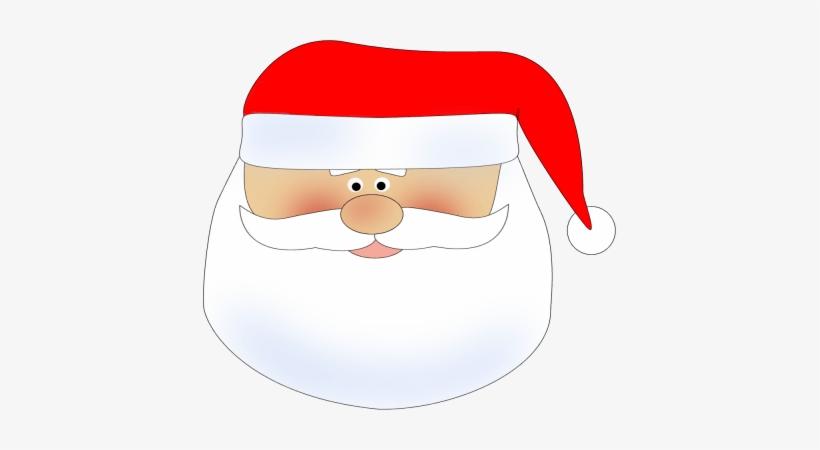 Vintage Santa Face Clipart 4 By Madison - Santa Face Clipart Transparent, transparent png #2267879