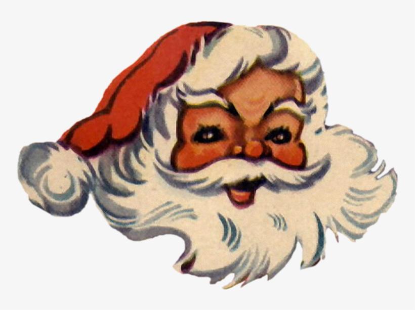A Jolly Santa Face In Jpg And Png - Santa Claus, transparent png #2268048