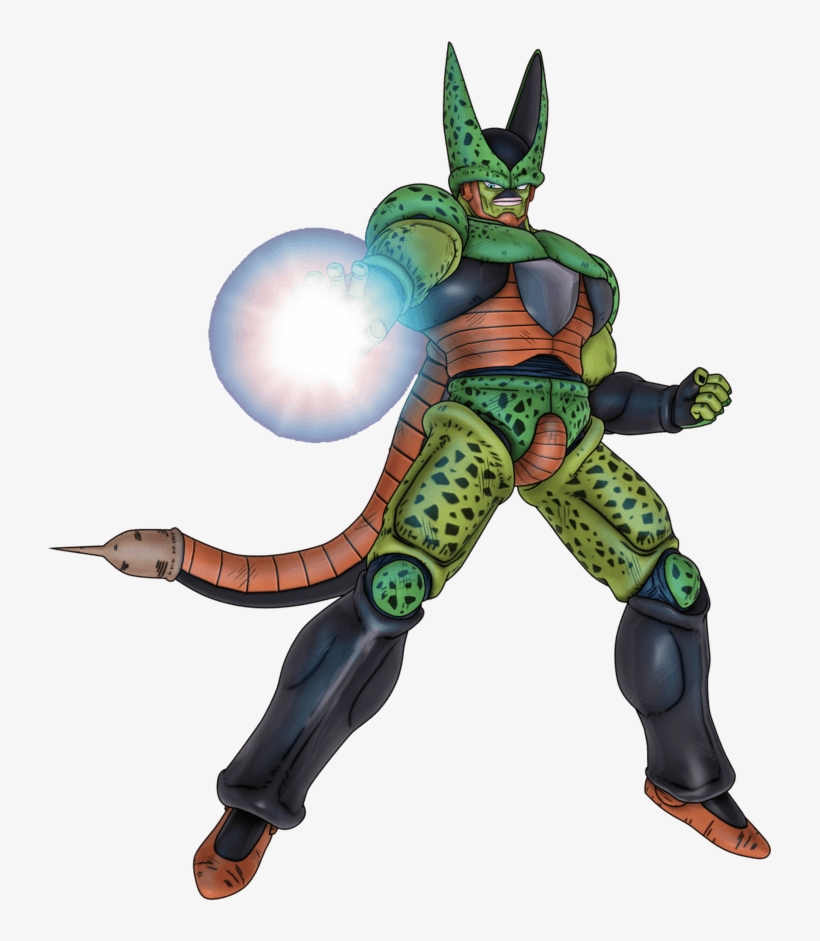 Dragon Ball Z Wallpapers - Dragon Ball Z Cell Forms 2, transparent png #2268855