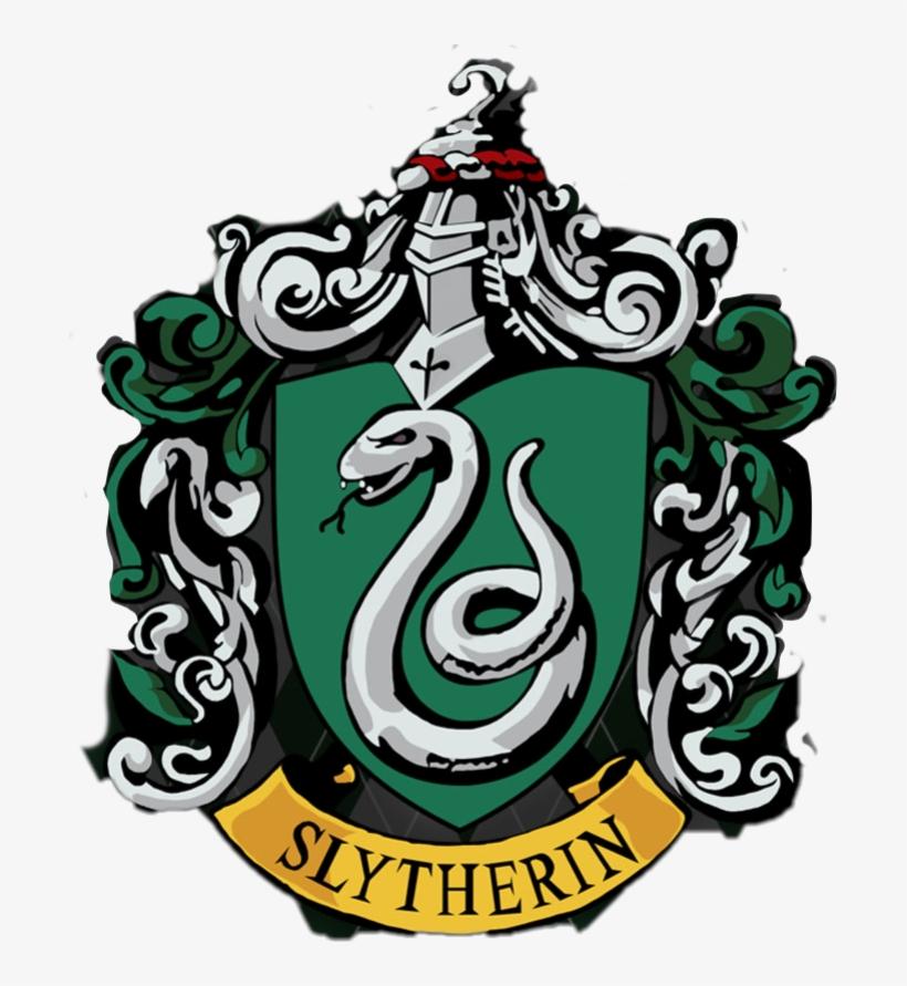Slytherin Crest Png - Harry Potter Slytherin Logo, transparent png #2269266