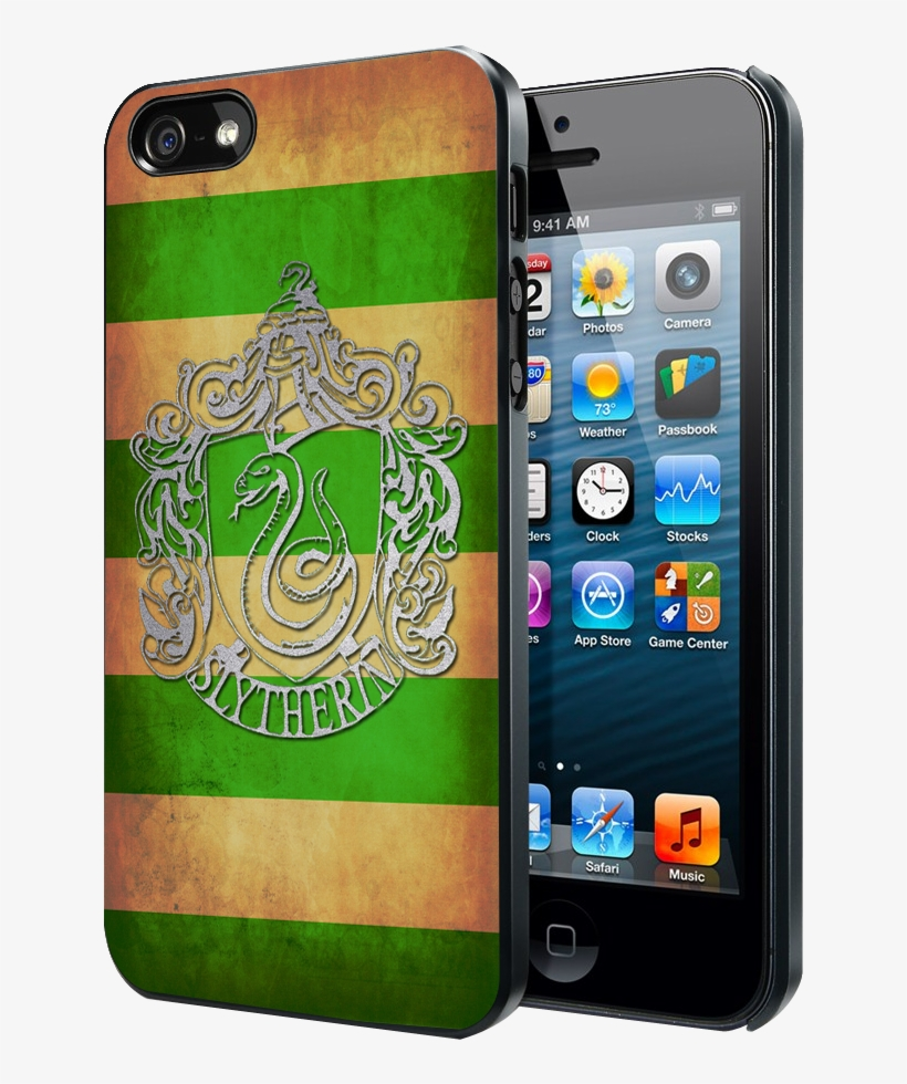 Harry Potter Slytherin Crest Samsung Galaxy S3 S4 S5 - Iphone 5 Cases Warcraft, transparent png #2269659
