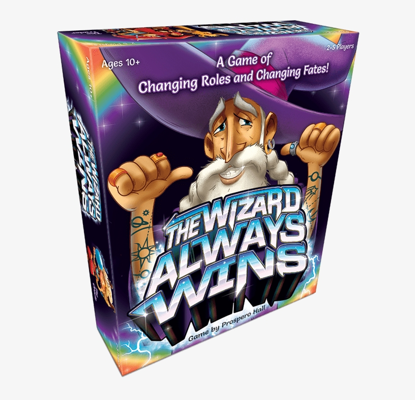 The Best New Board Games - Wizard Always Wins Board Game, transparent png #2269916