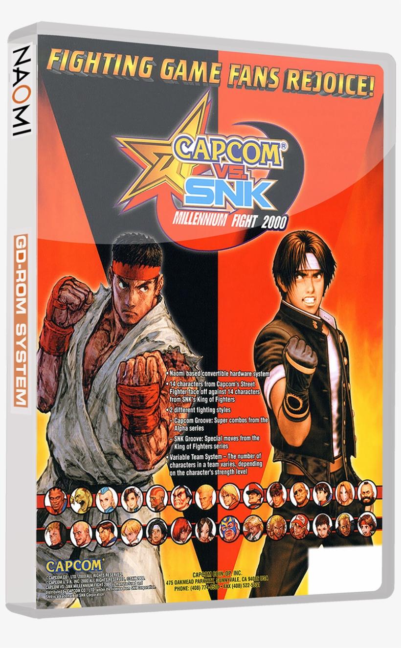 Sega Naomi 3d Boxes With Discs (gd-rom Set) - Capcom Vs Snk Pro Playstation Ps1, transparent png #2271075