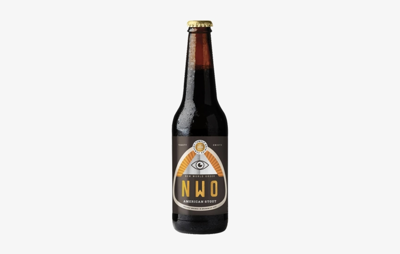 Beer Temple Brewing New World Order Stout - Temple New World Order X 1, transparent png #2273437