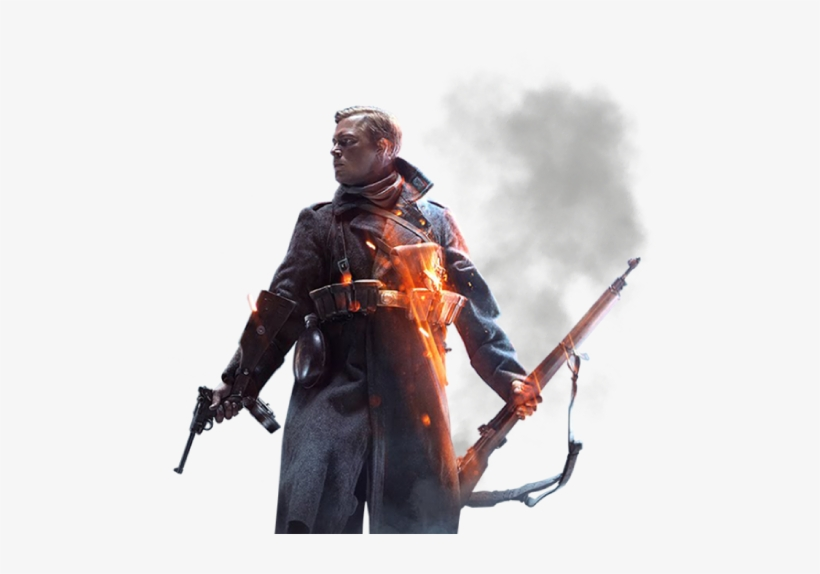 Soldier Transparent Bf1 - Battlefield 5 Dual Monitor, transparent png #2273999