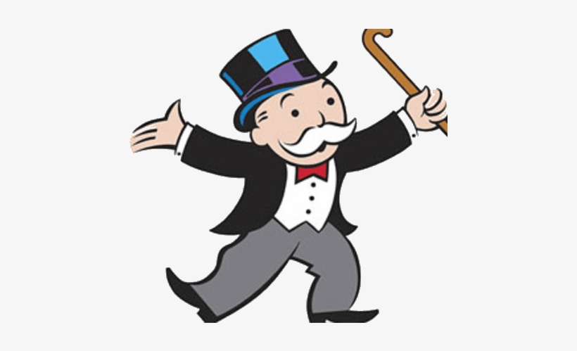 This Is The Story Of The Most Popular Family Game Which - Monopoly Man Png, transparent png #2274740