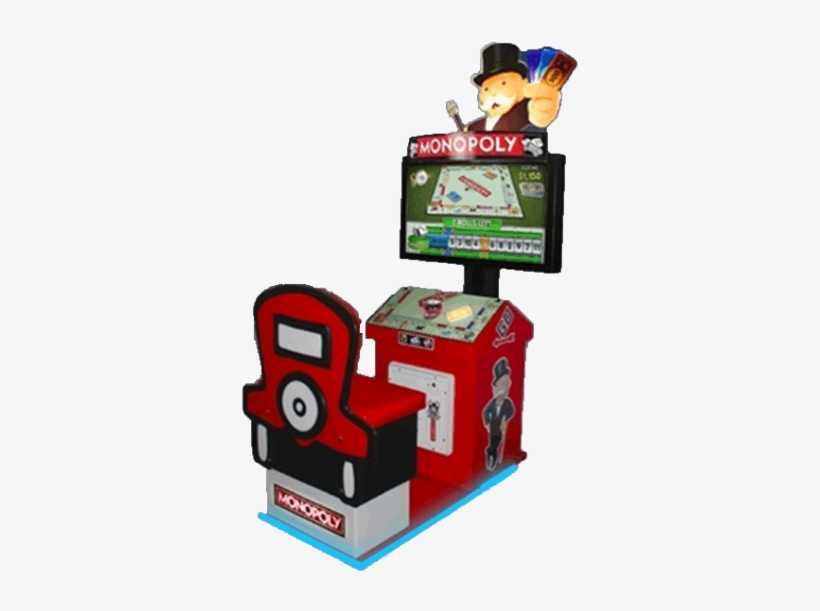 Monopoly Video - Monopoly Arcade Game, transparent png #2275433