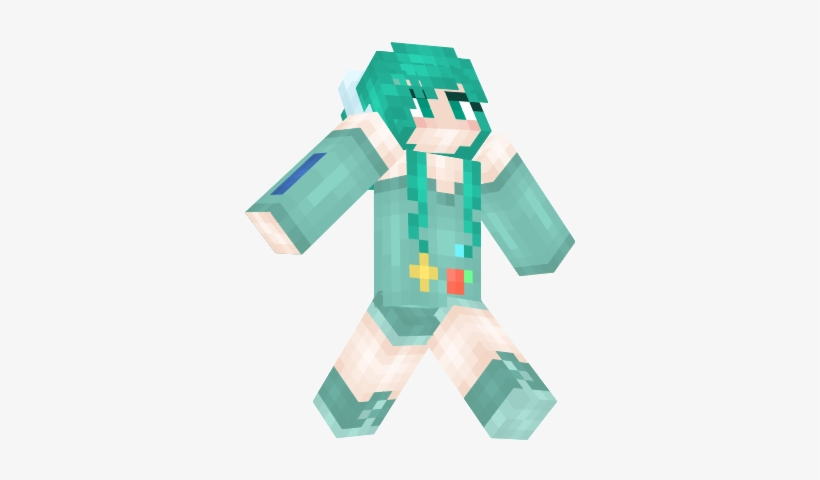 Minecraft Skins < This Shall Be My Minecraft Skin I - Minecraft Skin Love Girl, transparent png #2278684