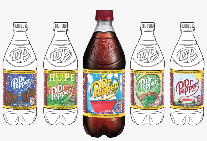 Dr Pepper Will Donate $1,000 To The Organization When - Dr Pepper Ten - 20 Fl Oz Bottle, transparent png #2278700