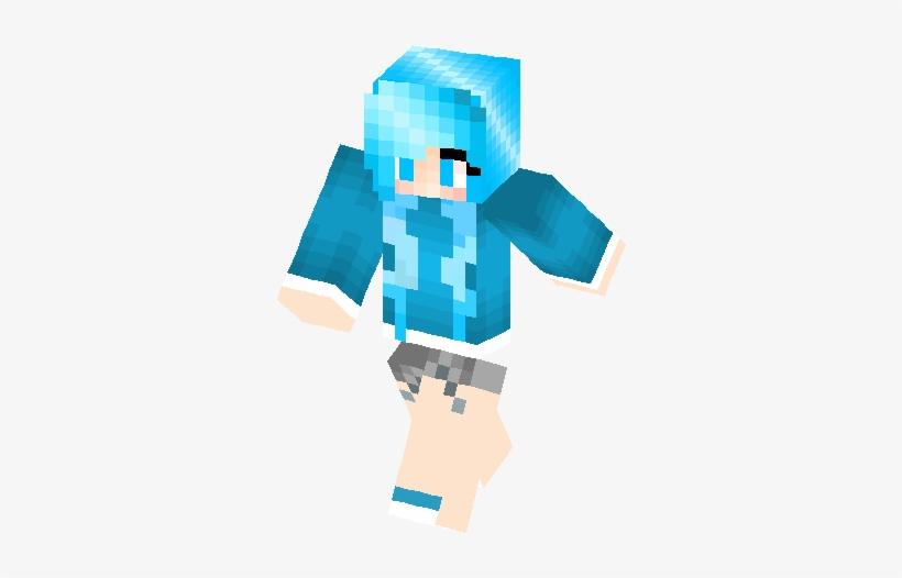 Just A Blue Skin Minecraft Skins Minecraft Skins Blue Girl