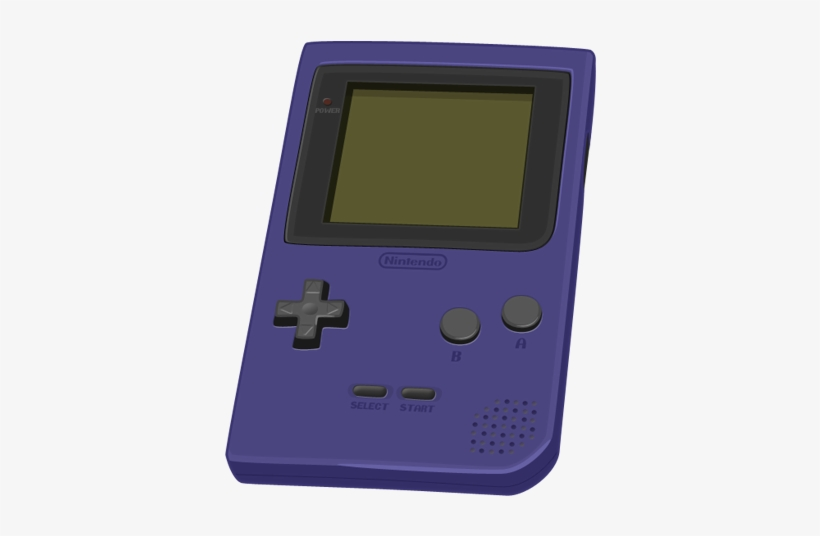 Banner Transparent Download Game Boy By Alex Design - Game Boy Pocket, transparent png #2281355