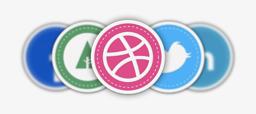Patch Social Media Icons - Social Media Patch Icons, transparent png #2281472