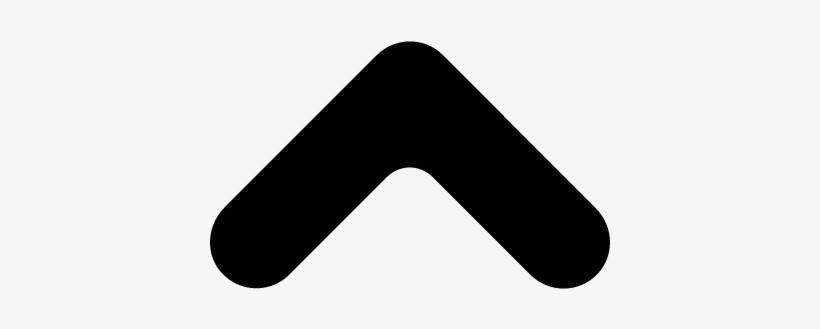 Up Arrow Angle Vector - Up Arrow Key Png, transparent png #2283665