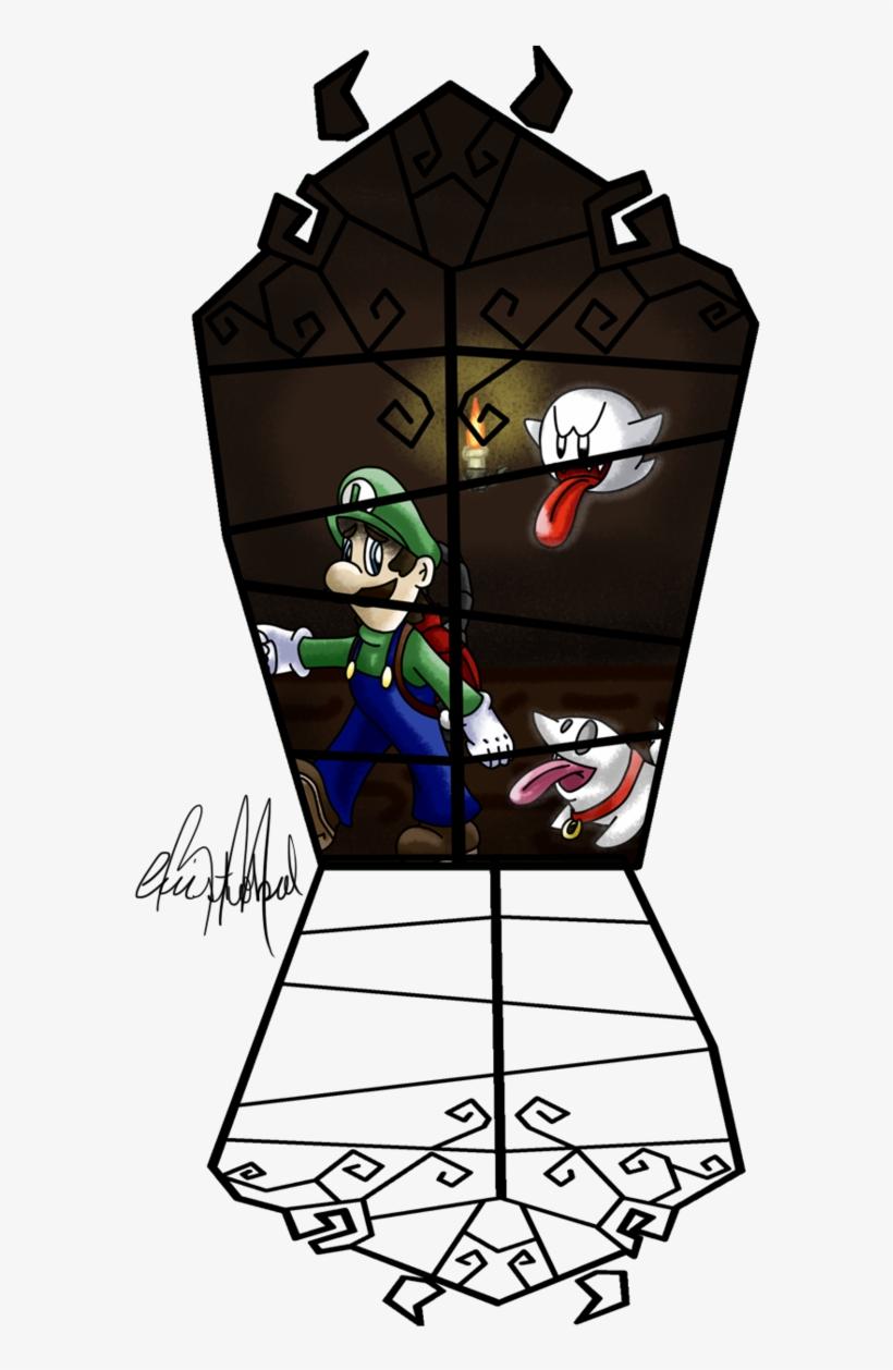 Luigi S Mansion Dark Moon Fan Art By Chris900j On Deviantart