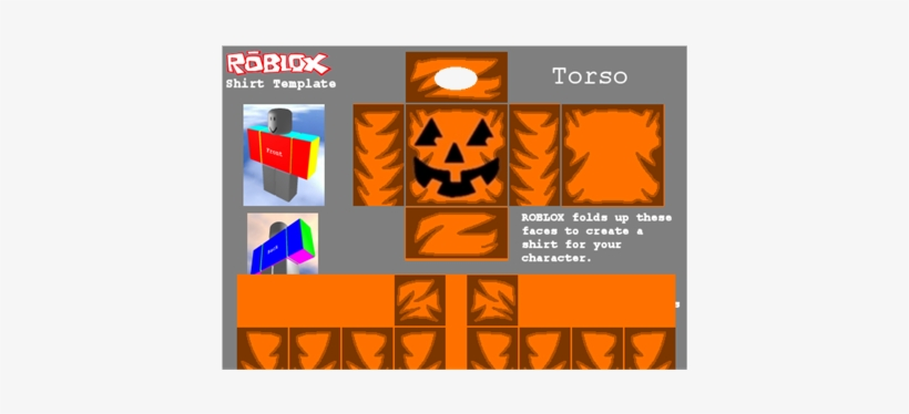 Classic Roblox Pumpkin Head Outfit Roblox Character Picture Free Download Pumpkin Shirt For Halloween Buy Roblox Police Shirt Template Free Transparent Png Download Pngkey