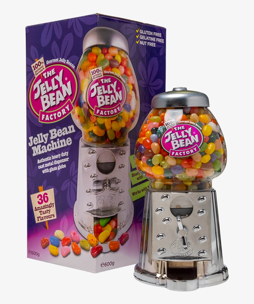 The Jelly Bean Factory Bean Machine - Jelly Bean Factory, transparent png #2285623