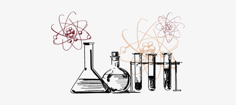 In Biology - Science Test Tube Drawing, transparent png #2287319
