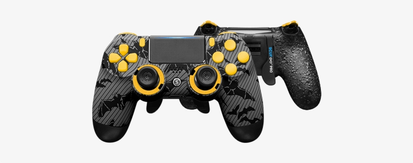 Playstation 4 Professional Controller Infinity4ps Pro - Ps4 Controller Scuf Infinity Pro Gotham, transparent png #2288340