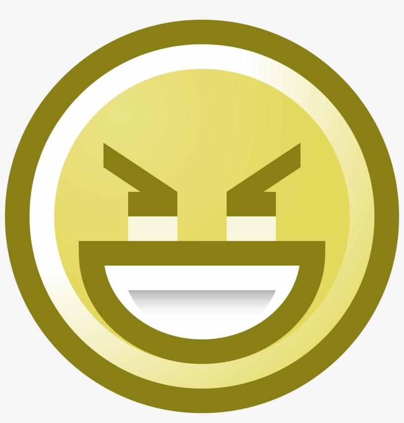 , , - Evil Smile Emoticon, transparent png #2291444
