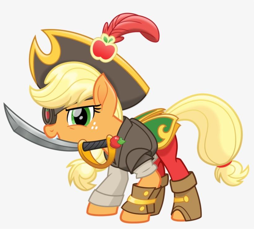 Action Pose, Applejack, Armor, Artist - My Little Pony Applejack Movie, transparent png #2291693