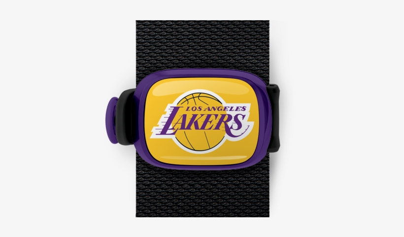 Los Angeles Lakers Stwrap - Los Angeles Lakers Die Cut Color Decal 8in X 8in, transparent png #2292640