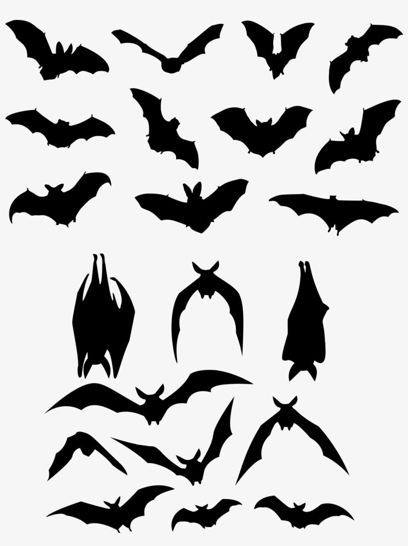 Small Bat Open Wings Transparent Png - Halloween Bat, transparent png #2293765