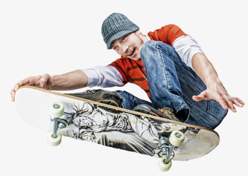 Skater Guy 2 - Word Search Puzzle Book Sports Words, transparent png #2294394