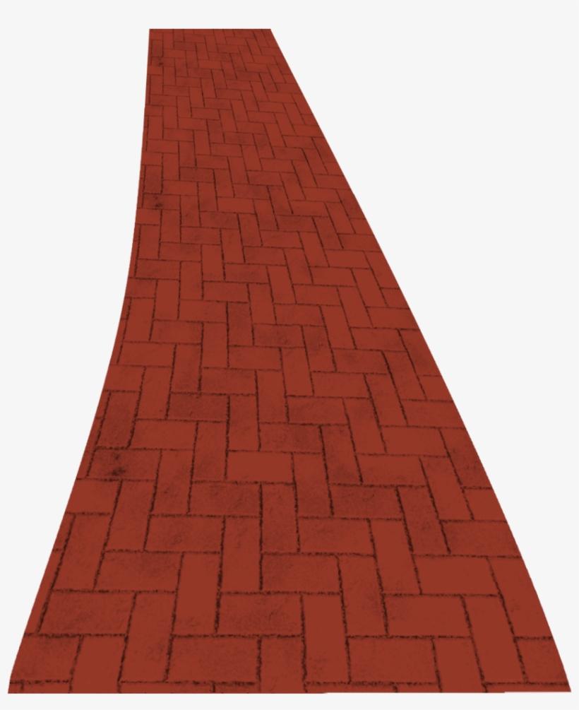 Brick Clipart Transparent - Red Brick Road Clipart, transparent png #230456