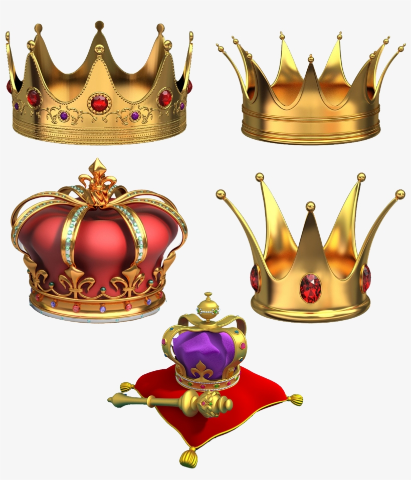 Gold Crowns Crown Png, Gold Crown, Drawing Clothes, - Crown Gold Diamond Psd, transparent png #232156