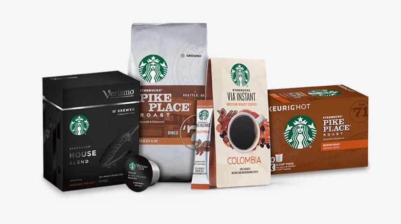 Medium Roast Coffees - Starbucks Medium Pike Place Roast Coffee, Ground, 12, transparent png #232809